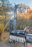 Home smokehouse Royalty Free Stock Image