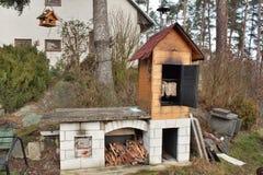 Home smokehouse Stock Image
