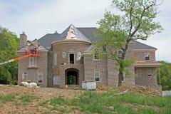 HOME sob a construção Imagem de Stock