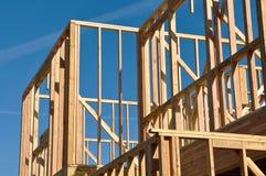 HOME sob a construção foto de stock