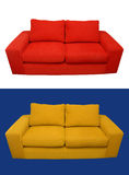 Home sofa composition Stock Image