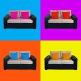 Home sofa composition Royalty Free Stock Photos