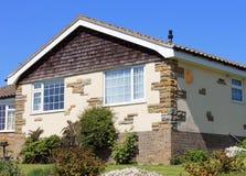 home sommar för bungalow arkivbild