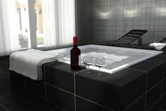Home spa Stock Photo
