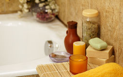 Home spa Royalty Free Stock Photo