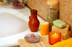 Home Spa Royalty Free Stock Image