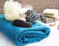 Home-Spa Products royalty free stock image