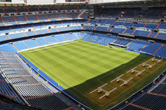 The home stadium of the royal club Real Madrid - Santiago Bernabeu royalty free stock photo
