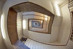 Home, Stairs, Interior Design, Daylighting stock image