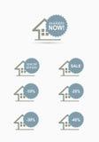 Home stickers Stock Photos