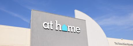 At Home Store Sign Royalty Free Stock Photo