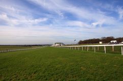 Home Stretch, Epsom Racecourse Stock Photos