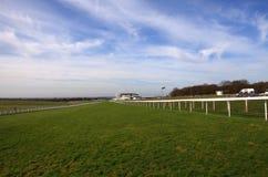 Home Stretch, Epsom Racecourse stock photos