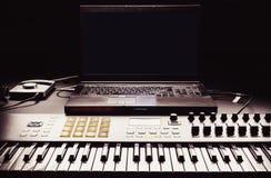 Home Studio Equipment Stock Images