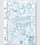 Home stuff Royalty Free Stock Photography