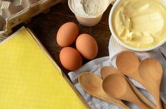 Home Style Baking Background Stock Photos