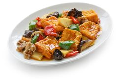 Home style bean curd Royalty Free Stock Image