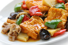 Home style bean curd Royalty Free Stock Photos