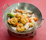 Home style bean curd, chinese tofu cuisine Stock Photos
