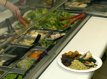 Home style cafeteria buffet 2 Stock Images