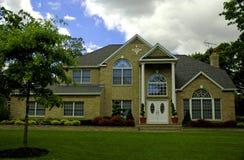 HOME suburbana fotos de stock