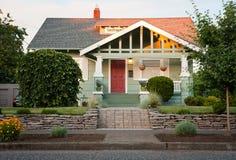 HOME suburbana Fotos de Stock Royalty Free
