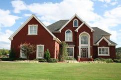 HOME suburbana Imagem de Stock Royalty Free