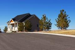 HOME suburbana Imagens de Stock