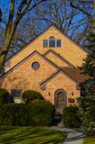 HOME suburbana em Illinois Imagens de Stock