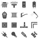 Home supply icons Stock Photo