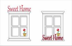 home sweet Zdjęcie Royalty Free