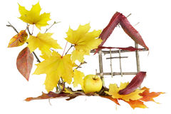 Home, sweet autumn home... Stock Photography