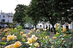 Home Sweet Home - 1. Posh houses located near Regent's Park, London Stock Image