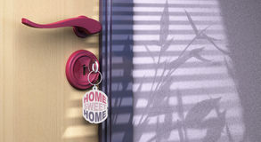 Home sweet home Royalty Free Stock Photography