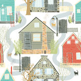 Home sweet home background. Home sweet home seamless background Royalty Free Stock Image