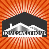 Home sweet home background Stock Images