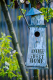 Home Sweet Home Bird House Royalty Free Stock Images