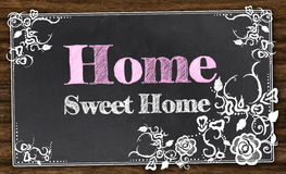 Home Sweet Home with Clipping Path Stock Photography