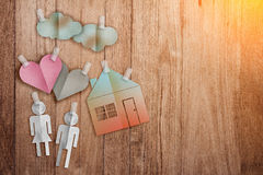 Home sweet home concept Royalty Free Stock Images