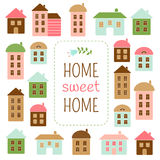 Home sweet home. Editable vector illustration Stock Image
