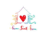 Home sweet home. Royalty Free Stock Images