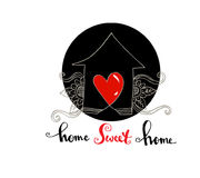 Home sweet home. Stock Image