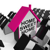 Home Sweet Home House Cozy And Familiar Royalty Free Stock Images