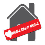 Home Sweet Home icon Stock Photo