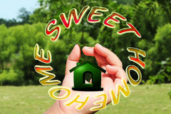 Home sweet home icon Royalty Free Stock Image