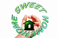 Home sweet home icon Stock Photography