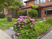Home sweet home Point Loma San Diego California. Home sweet home a manicured house in Point Loma San Diego California Stock Photography