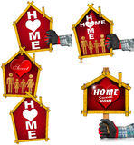 Home Sweet Home - Project Royalty Free Stock Photos