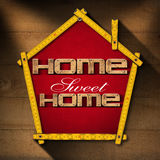 Home Sweet Home - Project Royalty Free Stock Images