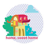 Home, sweet home Stock Photography
